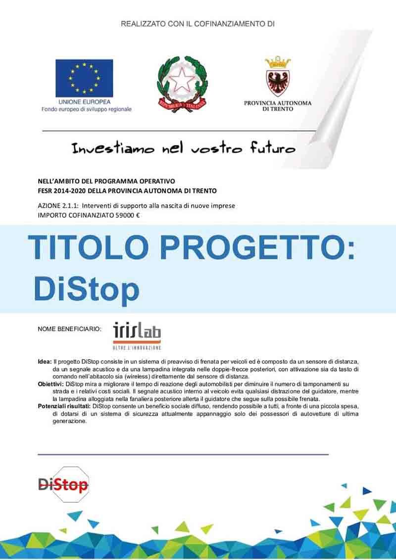 certificato DI-STOP